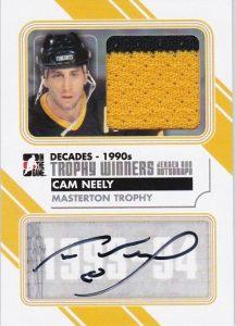 90s Trophy Winners Jersey Auto Cam Neely