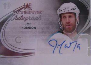 14th Edition Ultimate Autograph Joe Thornton