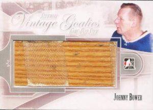 Stickwork Vintage Goalie Game Used Stick Johnny Bower