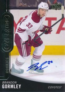 Overtime Wave 1 Autos Brandon Gormley