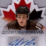 Canada Juniors Maple Leaf Forever Auto Virtanen