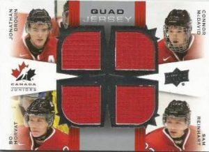 Canada Quad Jersey Drouin Horvat McDavid Reinhart
