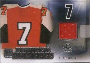 Enshrined Retired Numbers Bill Barber