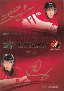 Master Collection Team Canada Dual Sigs