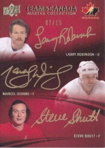Master Collection Team Canada Trios