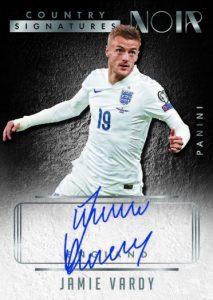 Noir Soccer Country Signatures Jamie Vardy
