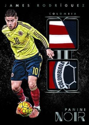 Noir Soccer Dual Memorabilia James Rodriguez