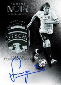 Noir Soccer Legendary Autographed Memorabilia Bastian Schweinsteiger