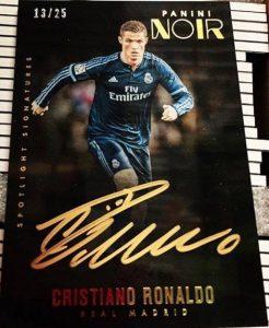 Noir Soccer Spotlight Signatures Cristiano Ronaldo