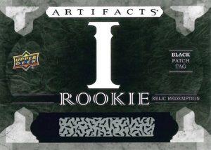 Artifacts Rookie Relic Redemption