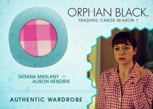 Wardrobe Tatiana Maslany as Alison Hendrix
