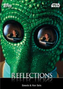 Reflections Greedo, Han Solo