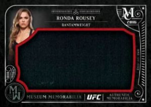 Topps UFC Memorabilia Ronda Rousey