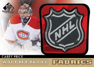 Authentic Fabrics Shield Carey Price
