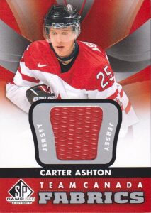 Team Canada Carter Ashton