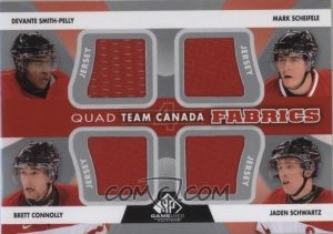 Team Canada Quad Smith-Pelly, Sheifele, Connolly, Schwartz
