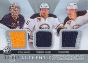 Authentic Fabrics Triple Miller, Vanek, Myers
