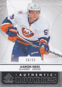 Authentic Rookies Aaron Ness