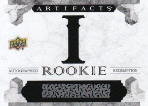 Artifacts Autograph Rookie Redemption