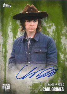 Walking Dead Season 5 Autographs Carl Grimes