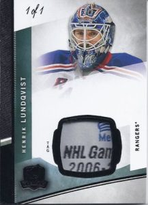 Base Black Tag Henrik Lundqvist