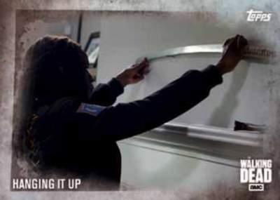 Walking Dead Season 5 Base Hanging it Up