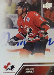 UD Team Canada Base Sp Jarome Iginla
