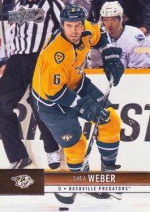 Upper Deck Base Shea Weber