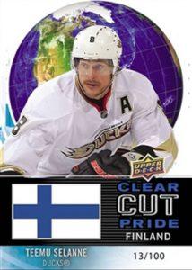 Clear Cut Pride of Finland Teemu Selanne