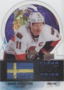 Clear Cut Pride of Sweden Daniel Alfredsson
