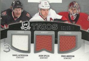 Cup Trios Jerseys, Alfredsson, Spezza, Anderson