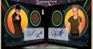 Doctor Who Dual Costume Booklets Autos