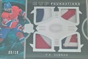 Foundations Quad Patch PK Subban