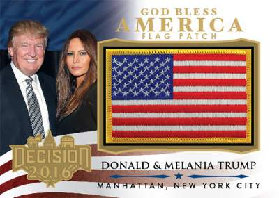 Decision 2016 God Bless America Flags