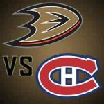 Habs vs Ducks