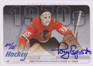 Hockey Heroes Autographs Tony Esposito