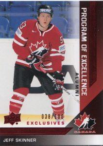 UD Team Canada POE Alumni Jeff Skinner