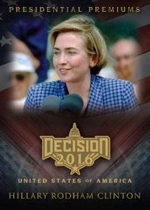 Decision 2016 Presidential Premiums