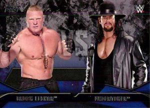 WWE Rivalries Brock Lesnar vs Undertaker