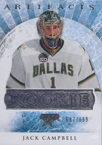 Rookie Redemption Jack Campbell