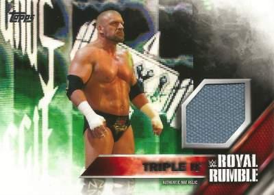 WWE Royal Rumble Mat Relic Triple H