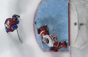 Shaw Scores vs Wings