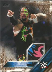WWE Shirt Relic Jey Uso