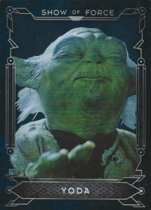 Masterwork Show of Force Yoda
