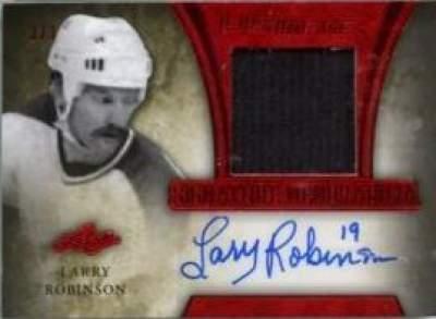 Ultimate Signature Memorabilia Robinson