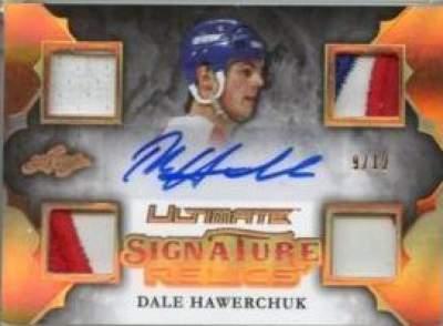 Ultimate Signature Relics Hawerchuk
