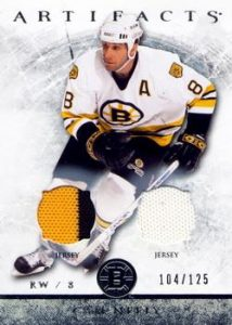Silver Jersey/Jersey Cam Neely