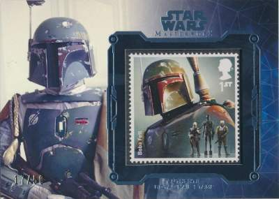 Masterwork Star Wars Stamp Set Boba Fett