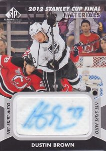 Stanley Cup Finals Net Skirt Auto Dustin brown