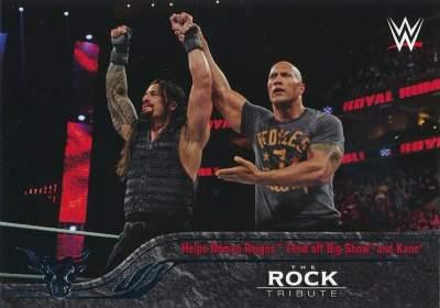 WWE The Rock Tribute, Helps Roman Reigns